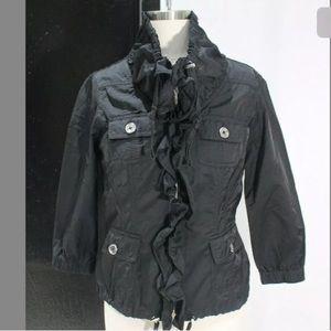 Womens 2 White house Black Market Full zip jacket